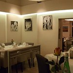 panaroma view of main dining area
