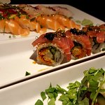 Delicious sushi from Blueberry
