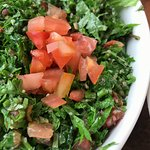 Tabbouleh without onions from the regular menu