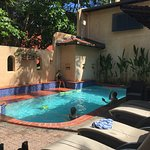 Pool 1 with Barbi facilities and hot tub