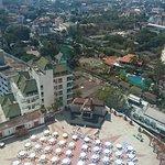 High floor view