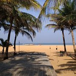Negombo beach from Jetwing Beach Hotel