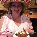 We did a birthday event.I had a delicious Tomatillo Chicken Enchiladas. The sauce was perfect &