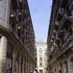 street of hotel