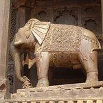 Beautifully carved elephant.