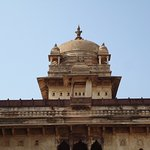 The top of the Palace with exquisite architecture.