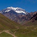 View Aconcagua at 11000 feet