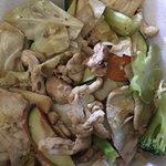 veggies and chicken