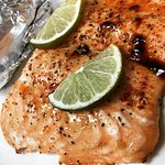 Key Lime Salmon Special