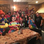 The Circus showed up at the Fredrick Inn! We love big groups or to meet anyone new passing throu