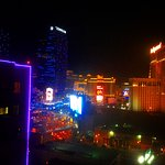 View of The Las Vegas Strip at night