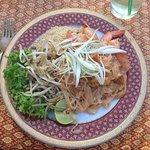 Pad Thai camarones
