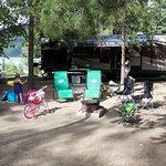 we had quite a large campsite, very near the park and washrooms