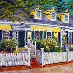 "Ann Gorbett "" Inn at Cook Street"" Palette Knife Artist"