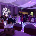 Grand hall sparkly dance floor