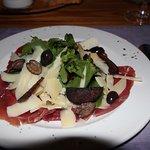 Springbok Carpaccio - delicious
