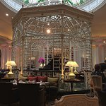 An impressive room for either breakfast or afternoon tea.