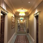 Even the corridors are kept immaculate and the decor is true to the art nouveau style.