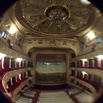 Theater in central Lviv