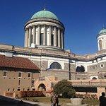 Esztergom Basilica, Hungary - View from Castle Courtyard