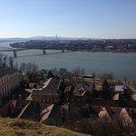 Esztergom Basilica, Hungary - View to Slovakia from Hill