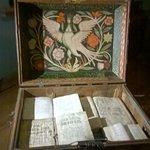 Сундук с книгами в доме боярина Романова