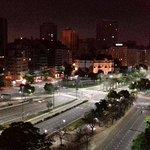 Vista do Terraço Hotel Embajador - Avenida 9 de Julio
