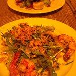 starter. Shrimps.. was wonderful