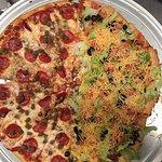 Taco pizza @Pizza Factory in Mauldin SC