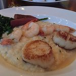 Prawn & Scallops with risotto