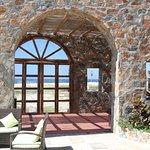 beach view from beach club pavillion
