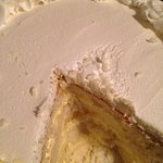 Lemon mousse cake , 4 layers  Yummy