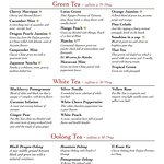 Try our Green Teas, White Teas and Oolong Teas