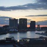 Photo taken from 8th floor looking east. Used Nikon 5100