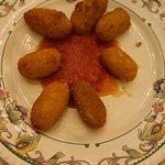 croquetas con mermelada de tomate