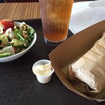 Shawarma & Greek Salad
