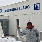 At Laugardalsslaug pool