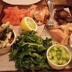 The amazing fish platter.