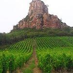 Rock of Solutré Foto
