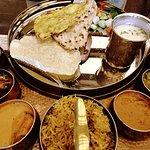 Maharashtrian thali and Roti & Boti Special thali