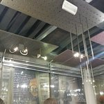 Amici miei - interior - ceiling and lighting