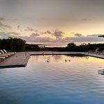 Swimming Pool Sunrise