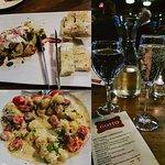 Prosecco, Gnochi, and Burrata