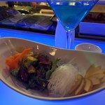 Spicy Tuna seaweed salad
