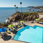 Our pool is the perfect spot to enjoy a sunny Central Coast day.
