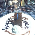 Free birthday dessert!