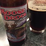 Local beer. Who could resist...Moose Drool?