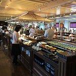 The Viking breakfast buffet