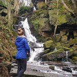 Waterfall in Lumsdale Valley