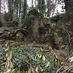 The old ruins create the perfect scenery for the waterfalls hike.